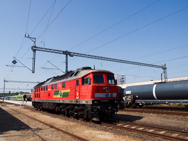 A GYSEV 651 0023 pályaszámú Ludmilla Répcelak állomáson fotó
