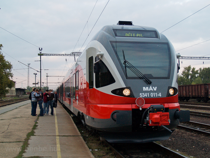The MÁV 5341 011-4 seen at  photo