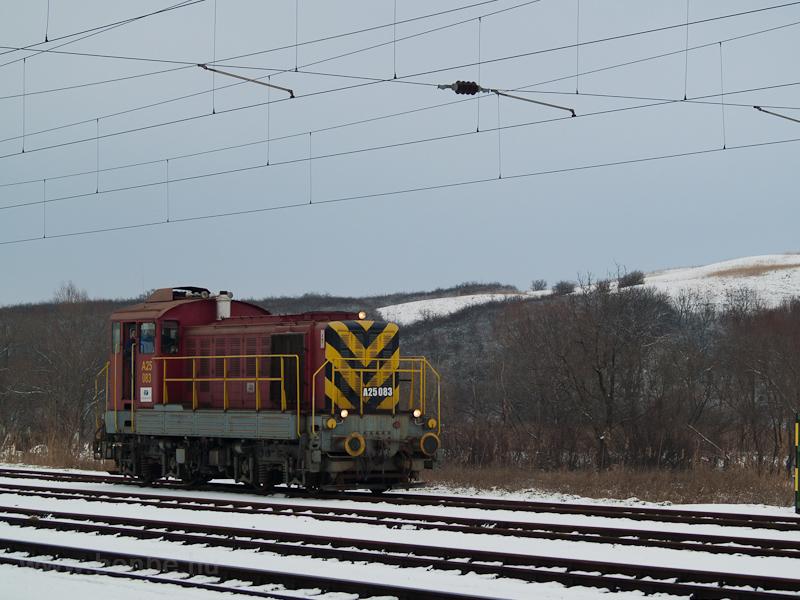 A Balatoni Iparvasút A25 08 fotó