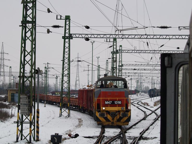 A MÁV M47 1316 Veszprém áll fotó