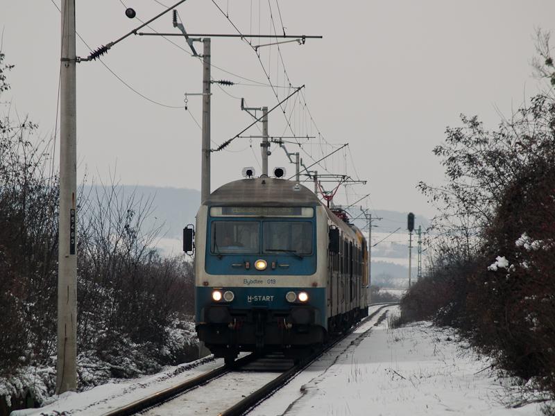 A MÁV-START Bybdtee 019 Herend és Márkó között fotó