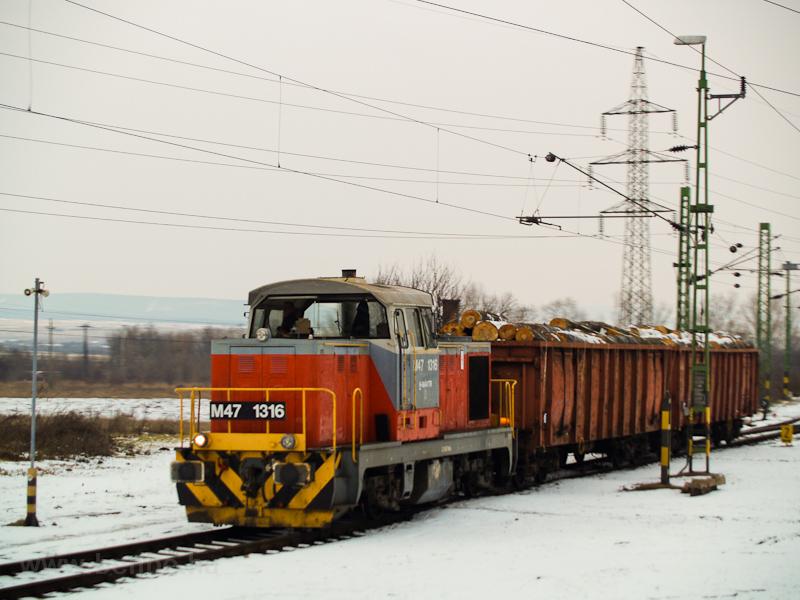 A MÁV-TR M47 1316 Veszprém  fotó