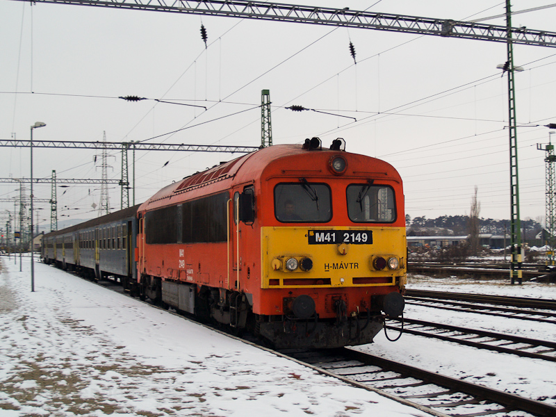 The MÁV-TR M41 2149 seen at photo