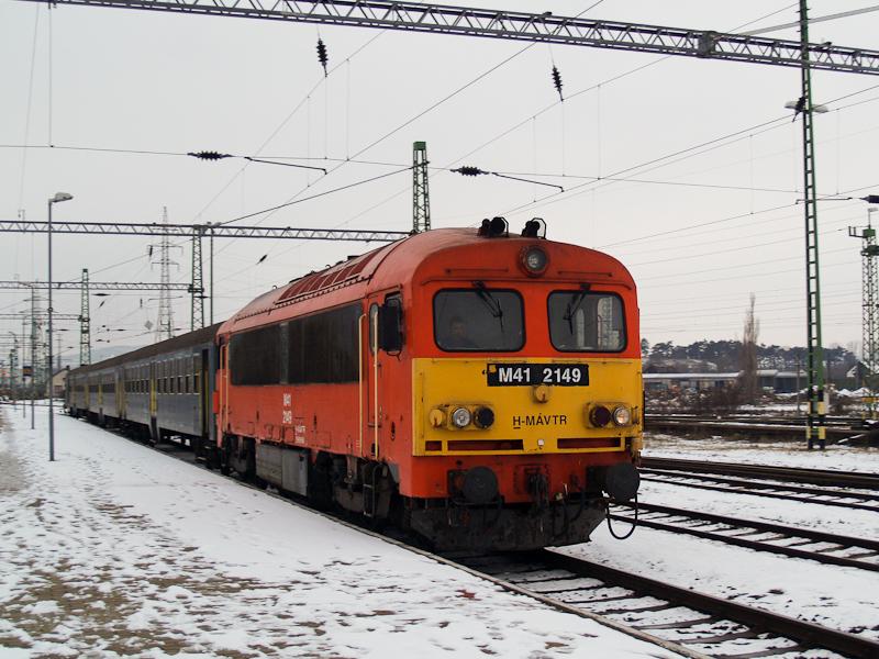 A MÁV-TR M41 2149 Veszprém  fotó