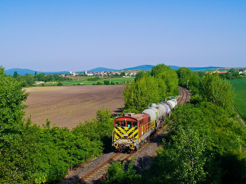 A Balatoni Iparvasút A25 083 Hajmáskér és Sóly között fotó