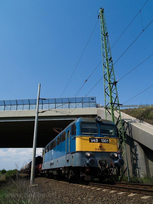 A MÁV-TR V43 1301 Sárpentele és Székesfehérvár között fotó
