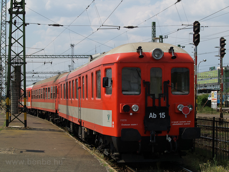 The MÁV Ab 15 seen at Széke photo