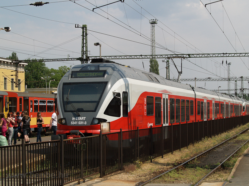 The MÁV-START 5341 031 seen photo