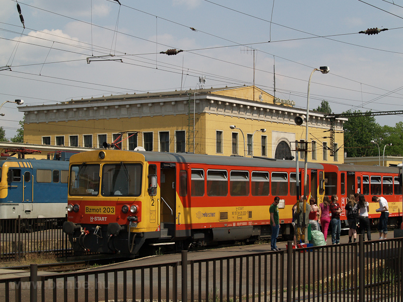 A MÁV-START Bzmot 203 Széke fotó