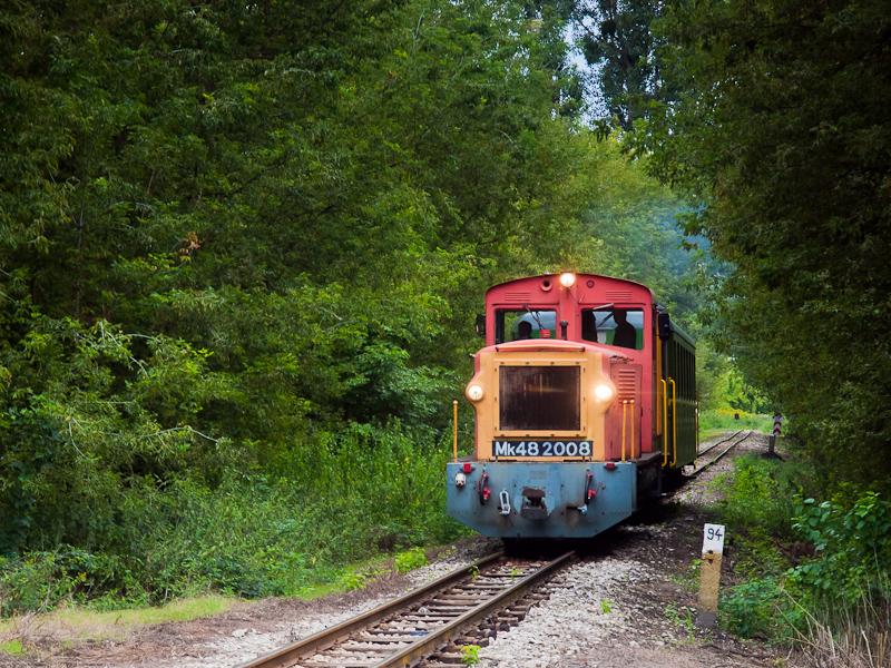 A MÁV-START Mk48 2008 Imremajor és Pálmajor között fotó