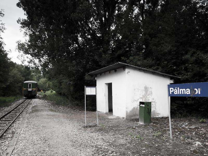 Pálmajor megállóhely a somogyszentpáli szárnyvonalon fotó