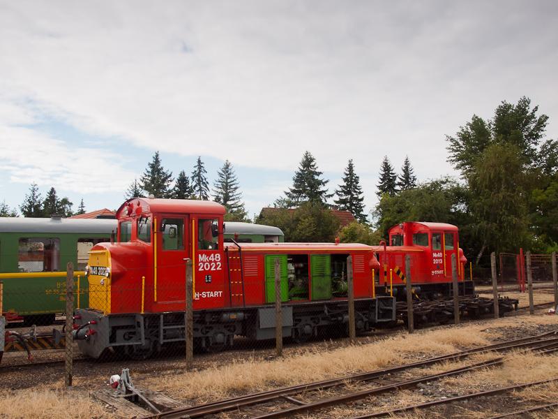 A MÁV-START Mk48 2022 és Mk fotó