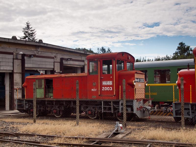 A MÁV-START Mk48 2003 Balat fotó