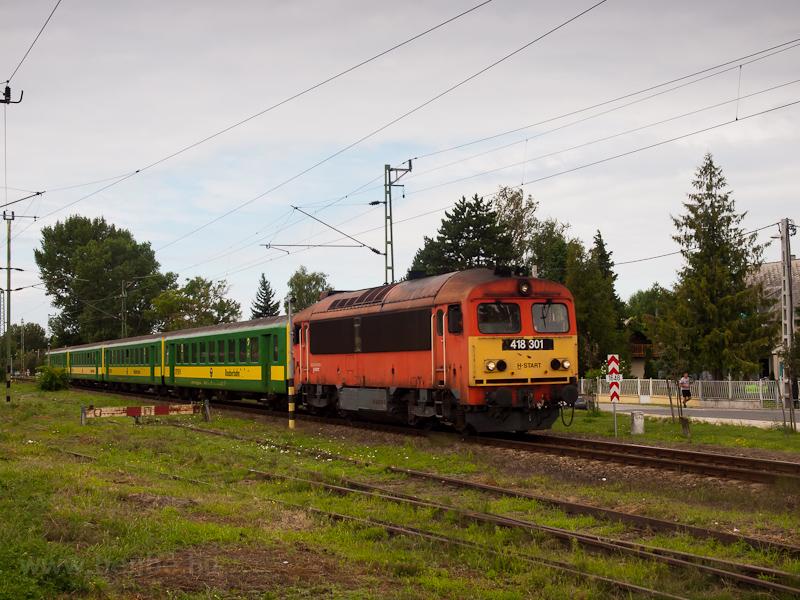 A MÁV-START 418 301 Balaton fotó
