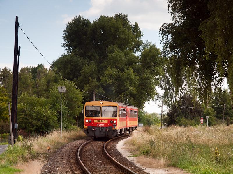 A MÁV-START 117 290 Raposka fotó