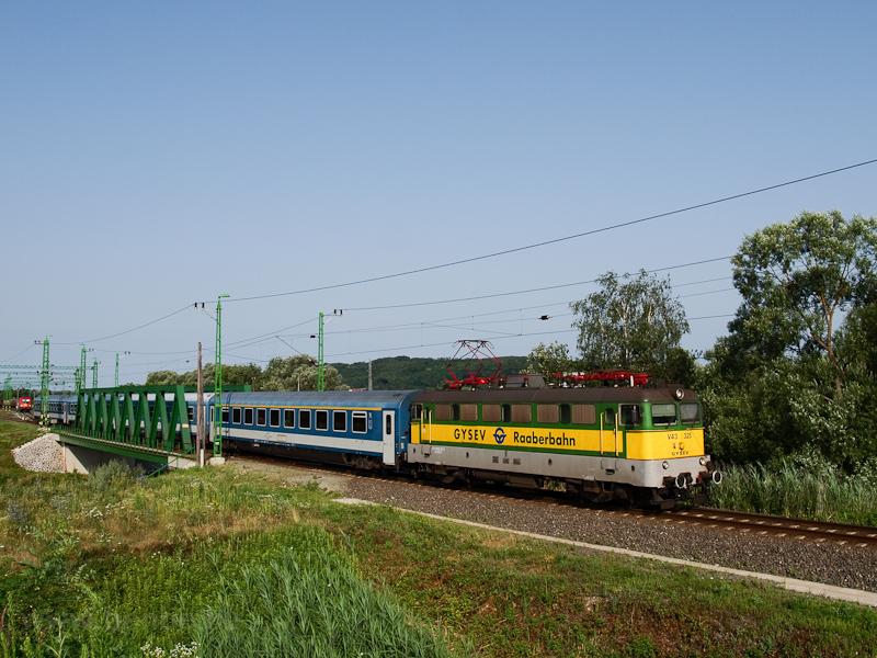 A GYSEV V43 325 Szentgotthá fotó
