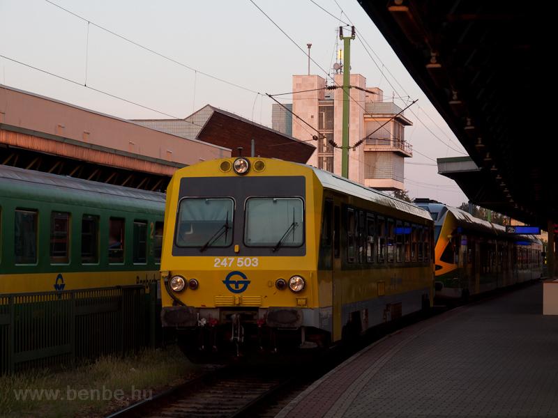 A GYSEV 247 503 Sopron állo fotó