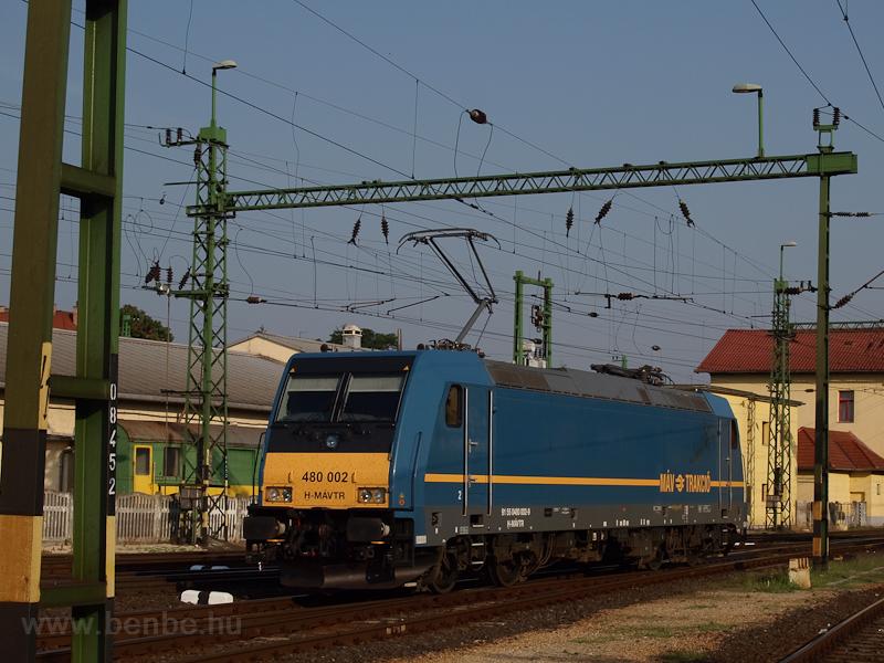 A MÁV-TR 480 002 Sopron áll fotó