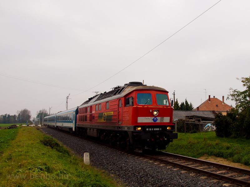 The GYSEV 651 003 seen betw photo