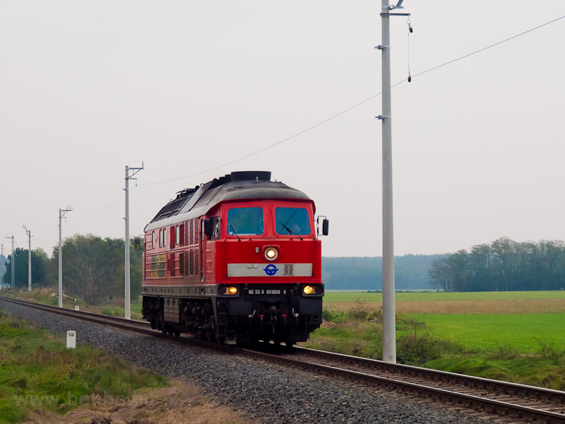 The GYSEV 651 008 seen betw photo