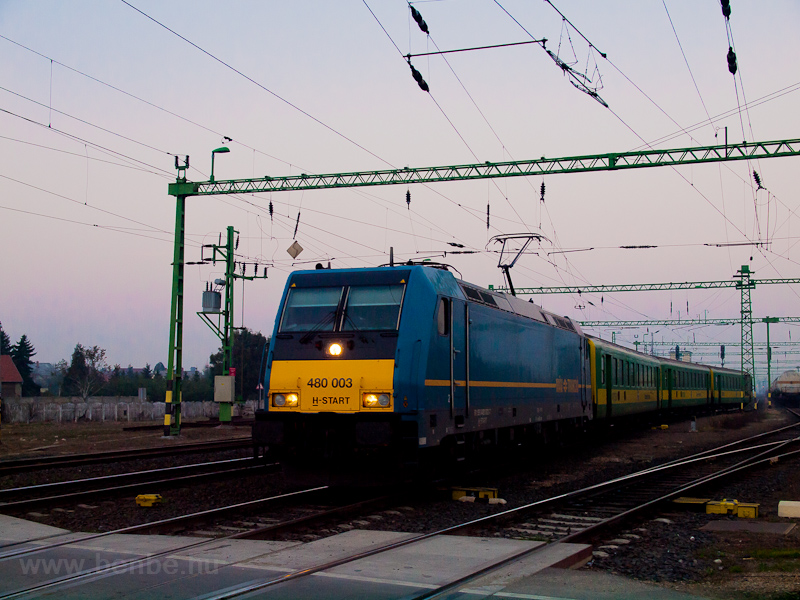 The MÁV-START 480 003 seen  photo