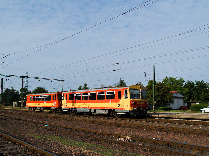 The MÁV Bzmot 339 seen at D photo