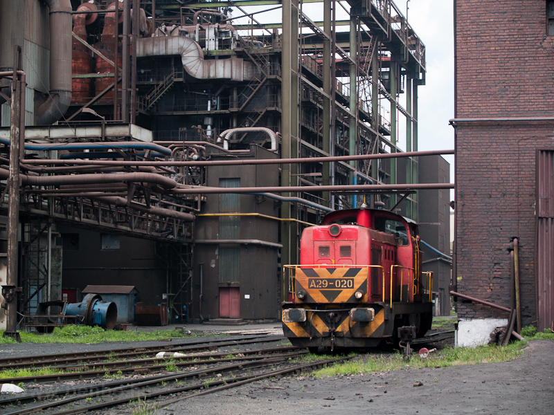 The Dunaferr A29 020 seen between the coke plant and the ore classifier photo