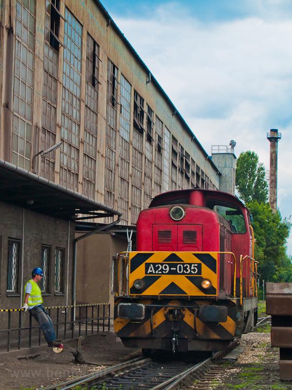 Az ISD Dunaferr A29 035 a l fotó