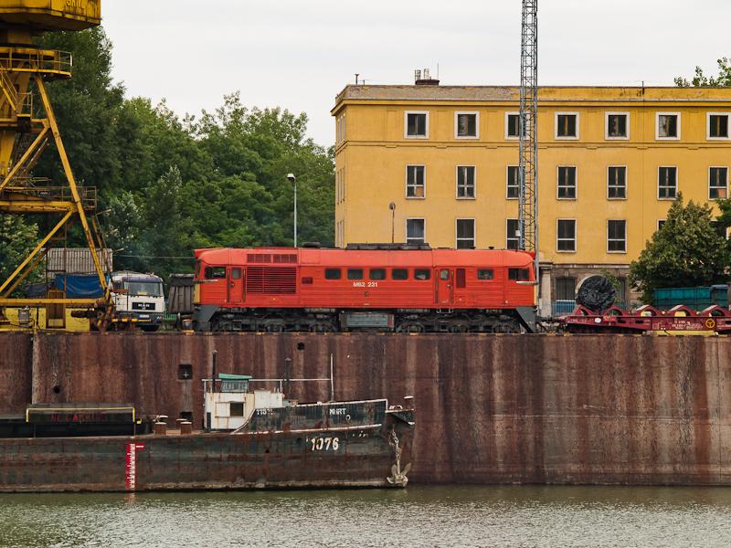 A MÁV-TR M62 231 Dunaújváro fotó