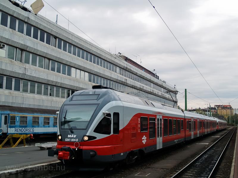 A MÁV 5341 004-9 Budapest-D fotó