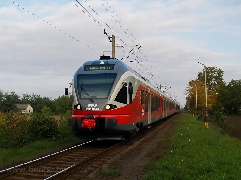 The MÁV 5341 014-8 seen at  photo