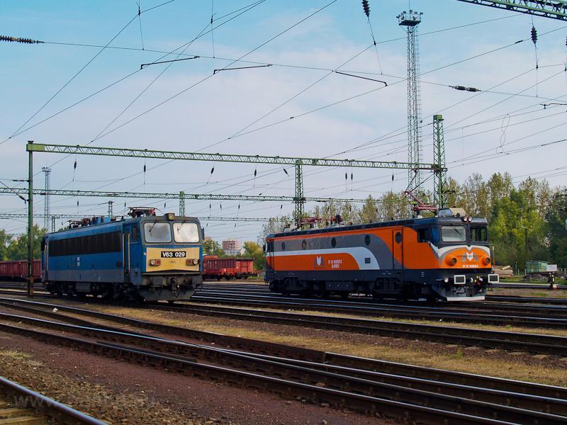 A MÁV V63 029 és az MMV 040 fotó