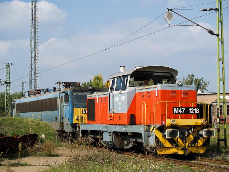 A MÁV M47 1218 Dunaújváros  fotó
