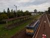A MÁV-START 431 128 Balatonfenyves állomáson