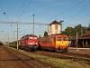 A GYSEV 651 023 és a MÁV-START 418 108 Sárvár állomáson