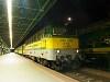 A GYSEV V43 330 Sopron állomáson
