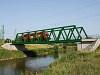 A GYSEV 1116 060-3 Szentgotthárd és Haris között a Rába hídján
