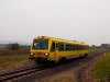 The GYSEV 5047 501 seen between Lépesfalva-Somfalva and Ágfalva