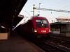 Az ÖBB 1116 128 Sopron állomáson