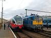 A MÁV 5341 014-8 és a V43 1176 Budapest-Déli pályaudvaron