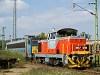 A MÁV M47 1218 Dunaújváros állomáson