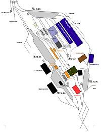 A Dunaferr Dunai Vasmű pályaudvarai és vágányhálózata Dunaújvárosban