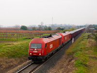 The ÖBB 2016 037 seen between Ágfalva and Lépesfalva-Somfalva