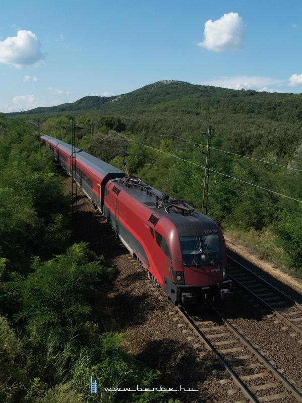1116 212 Szárliget és Szár között  railjet -vonattal fotó