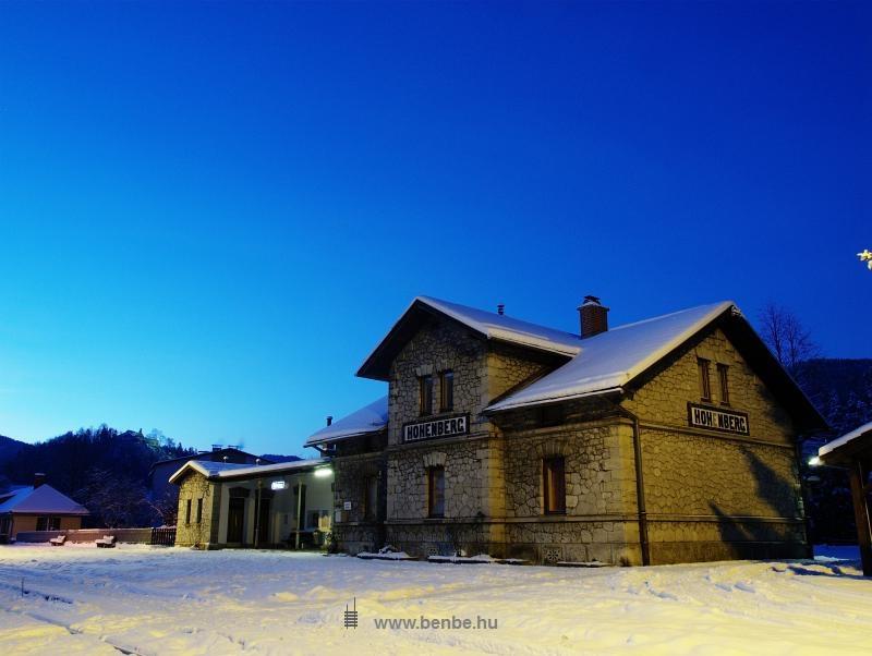 Hohenberg vasútállomása fotó