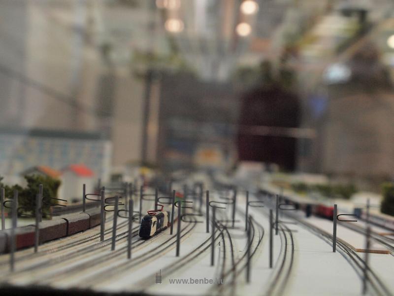 A St. Pölten-i állomás makettje WLB tehervonattal fotó
