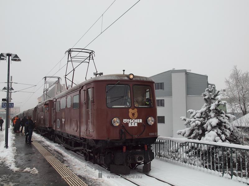 Az ÖBB 1099 013-3 Ötscher Bär mozdonya St. Pölten Hauptbahnhofon fotó
