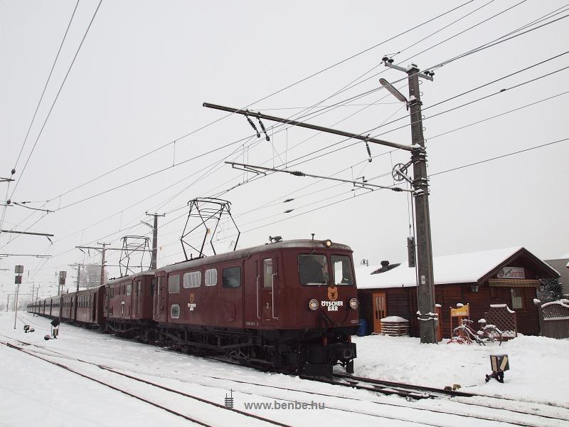 Az ÖBB 1099 013-3 Ötscher Bär mozdonya Ober Grafendorfban fotó