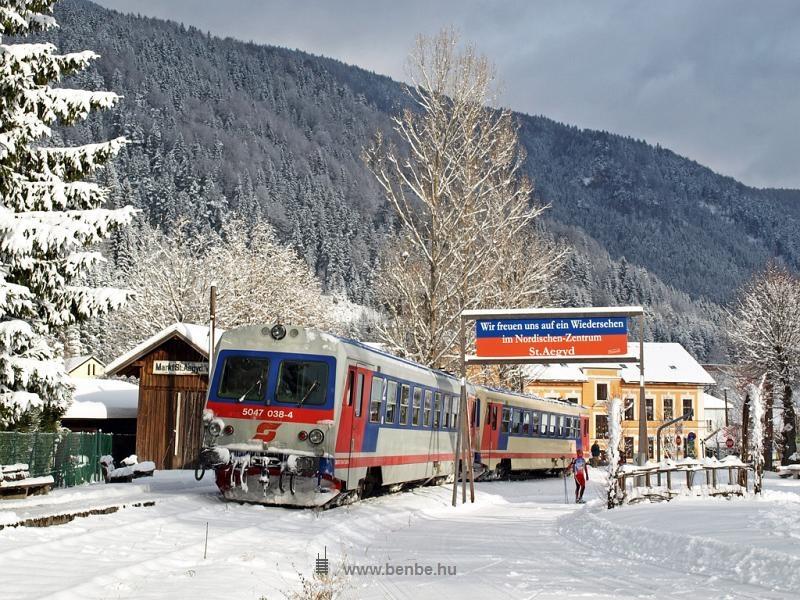 Az ÖBB 5047 038-4 Markt St. Aegyd am Neuwalde végállomáson fotó