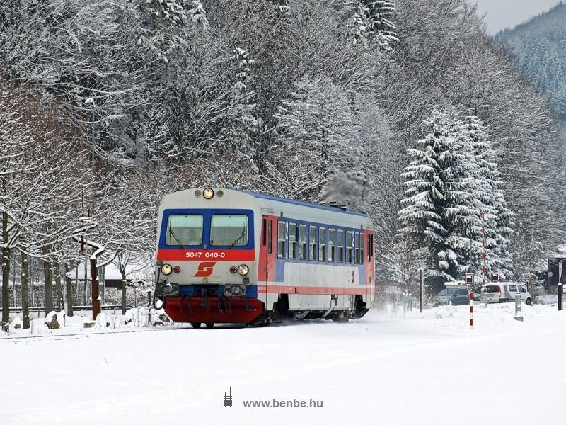 Az ÖBB 5047 040-0 Furthof és Hohenberg  között fotó